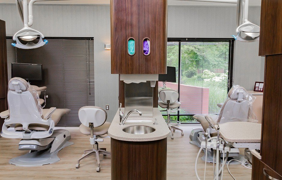 Operatory room in the dental office of Rina Singh, DDS